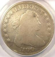 1800 DRAPED BUST SILVER DOLLAR $1 - CERTIFIED ANACS VG8 DETAILS -  COIN