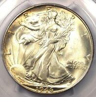 1946-S WALKING LIBERTY HALF DOLLAR 50C - PCGS MINT STATE 66 PQ PLUS GRADE - $525 VALUE