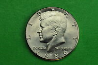 1986 D GEM BU  MINT STATE KENNEDY US HALF DOLLAR COIN