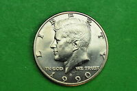 1990 D  BU  MINT STATE KENNEDY US HALF DOLLAR COIN