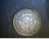 1942 SO AFRICA 3 PENCE MEDIUM GRADE .0363 OZ SILVER   SAF 3