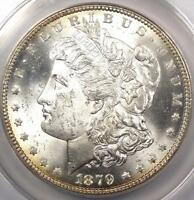 1879-S REVERSE OF 1878 MORGAN SILVER DOLLAR $1 - ANACS MINT STATE 64 - $1,500 VALUE