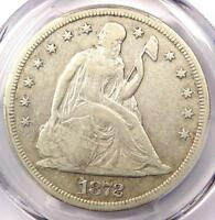 1872-S SEATED LIBERTY SILVER DOLLAR $1 COIN - PCGS VF30 -  - $1,900 VALUE