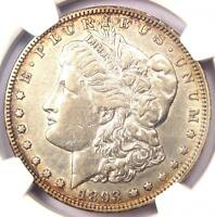 1893-O MORGAN SILVER DOLLAR $1 - NGC EXTRA FINE  DETAIL EF.  DATE - CERTIFIED COIN