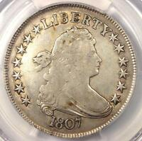 1807 DRAPED BUST HALF DOLLAR 50C - PCGS VF DETAILS -  CERTIFIED COIN