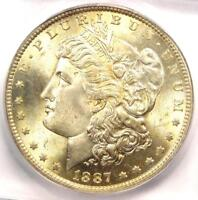 1887-O MORGAN SILVER DOLLAR $1 COIN - ICG MINT STATE 65 -  IN MINT STATE 65 - $2,380 VALUE
