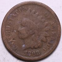 1868 INDIAN HEAD CENT PENNY       K6VCF