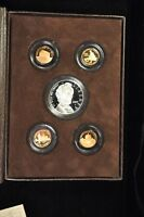2009 ABRAHAM LINCOLN COIN & CHRONICLES SET W/ PROOF SILVER DOLLAR & FOUR CENTS
