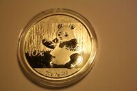 CHINA  2017 1 OZ  9999 SILVER PANDA  IN GARDEN   DESIGN :: 10 YUAN