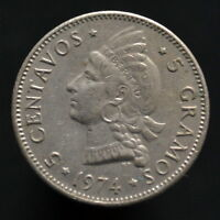 DOMINICAN REPUBLIC 5 CENTAVOS 1961 74. KM18. NORTH AMERICAN COIN