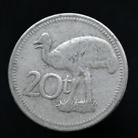 PAPUA NEW GUINEA 20 TOEA 1999 AFRICA ANIMAL COIN EXACT ITEM PICTURED