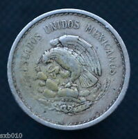MEXICO 10 CENTAVOS 1942. KM432. NORTH AMERICA. EXACT ITEM PICTURED.