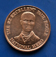 JAMAICA 10 CENTS. KM146.2. NORTH AMERICA COIN.  UNC.