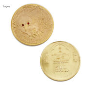 BUSINESS SOUVENIR GIFTS CUTE ANIMAL COINS METAL CRAFTS WITH PLASTIC CASE