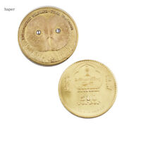HOLIDAY GIFTS CUTE ANIMAL COIN 24K 999.9 GOLD PLATED METAL COIN ROUND COINS