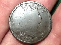 1797 DRAPED BUST LARGE CENT    COIN  LATE DIE STATE