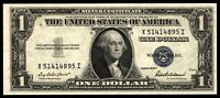 1935F SERIES $1 SILVER CERTIFICATE   XI BLOCK   UNCIRCULATED   FR. 1615