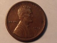 1916-S LINCOLN 1C CHOICE EXTRA FINE  FULL STRIKE