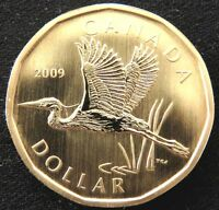 CANADA 2009 SPECIMEN DOLLAR GREAT BLUE HERON  RCM COLLECTOR BU COIN