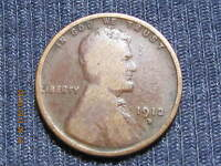 1912 D LINCOLN WHEAT CENT   ALBUM HOLE FILLER KEY COIN  LOWER GRADE
