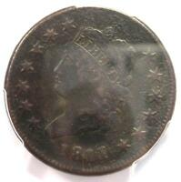1811/0 CLASSIC LIBERTY LARGE CENT COIN 1C - CERTIFIED PCGS FINE DETAILS