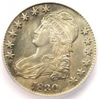 1830 CAPPED BUST HALF DOLLAR 50C O-103 - CERTIFIED ICG AU50 -  COIN