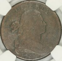 1798 2ND HAIR DRAPED BUST LARGE CENT NGC VF20