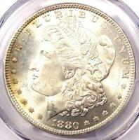 1880-P 1880 MORGAN SILVER DOLLAR $1 - PCGS MINT STATE 65 -  IN MINT STATE 65 - $675 VALUE