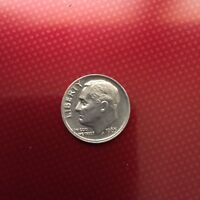 1965  ROOSEVELT DIME  SLIGHTLY OFF CENTER  DOUBLE RIM ERROR COIN  CIRCULATED