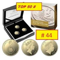 2018 $2 THREE COIN PROOF SET 30TH ANNIVERSARY OF THE $2 COIN