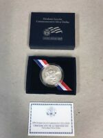 2009 UNITED STATES MINT ABRAHAM LINCOLN COMMEMORATIVE SILVER DOLLAR UNCIRCULATED