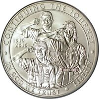 2010 P $1 BOY SCOUTS OF AMERICA SILVER DOLLAR PCGS MS69 392