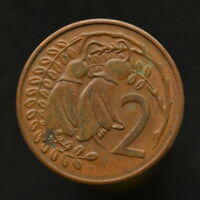 COIN NEW ZEALAND  2 CENTS 1967 82. KM32.1  21.1MM