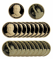 2013 -S WILLIAM TAFT PRESIDENTIAL PROOF DOLLAR ROLL 20 US COINS