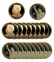 2013 -S THEODORE ROOSEVELT PRESIDENTIAL PROOF DOLLAR ROLL 20 US COINS