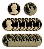 2014 -S WARREN HARDING PRESIDENTIAL PROOF DOLLAR ROLL 20 US COINS