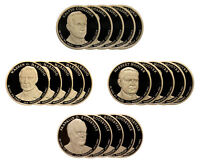 2014 -S PRESIDENTIAL PROOF DOLLAR ROLL 20 US COINS ROOSEVELT COOLIDGE HARDING H
