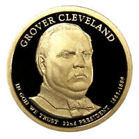 2012 -S GROVER CLEVELAND PRESIDENTIAL PROOF DOLLAR GEM DEEP CAMEO US COIN 1ST T