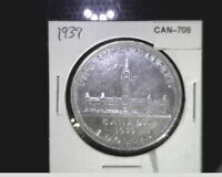 1939 CANADA ONE DOLLAR PARLIMENT ANNIV. SILVER CAN 708