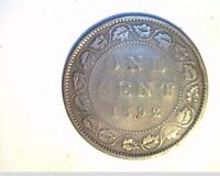 1892 CANADA 1 PENNY HIGH GRADE CIRCULATED BRONZE  CAN 536