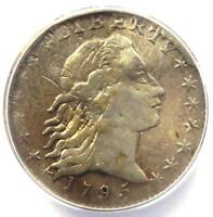 1795 FLOWING HAIR HALF DIME H10C LM-10 - ANACS F12 DETAIL -  CERTIFIED COIN