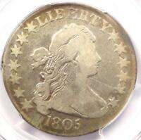 1805 DRAPED BUST HALF DOLLAR 50C COIN O-111 - CERTIFIED PCGS FINE DETAILS