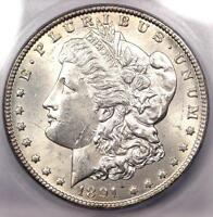 1891-CC MORGAN SILVER DOLLAR $1 - CERTIFIED ICG MINT STATE 61 BU UNC - $620 VALUE