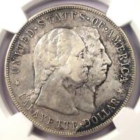 1900 LAFAYETTE SILVER DOLLAR $1 - CERTIFIED NGC VF DETAIL -  CERTIFIED COIN