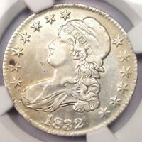 1832 CAPPED BUST HALF DOLLAR 50C - NGC EXTRA FINE  DETAILS EF -  COIN - NEAR AU