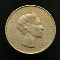 LUXEMBOURG 5 FRANCS 1962. KM51. EUROPE COIN. CIRCULATED.