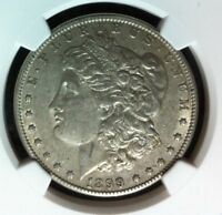 1899-O VAM 5 NGC EXTRA FINE  45 MORGAN SILVER DOLLARGENE L HENRY LEGACY COLLECTION