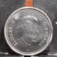 CIRCULATED 2003 5 CENT CANADIAN COIN 100617 1