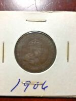 CANADA 1906 ONE  1  CENT PENNY   1238