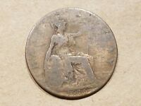 1916 GREAT BRITAIN 1/2 PENNY HALF PENCE COIN BRITISH UNITED KINGDOM UK ENGLISH